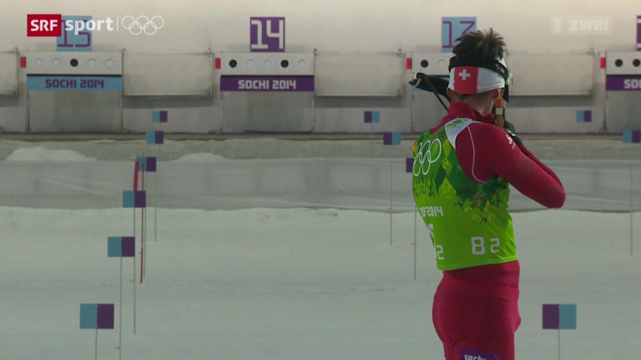 Biathlon: 4x7.5 km Staffel der Männer