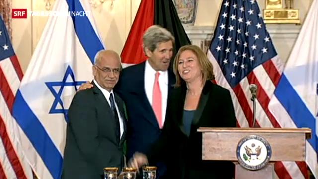 Naher Osten: Neue Friedensgespräche
