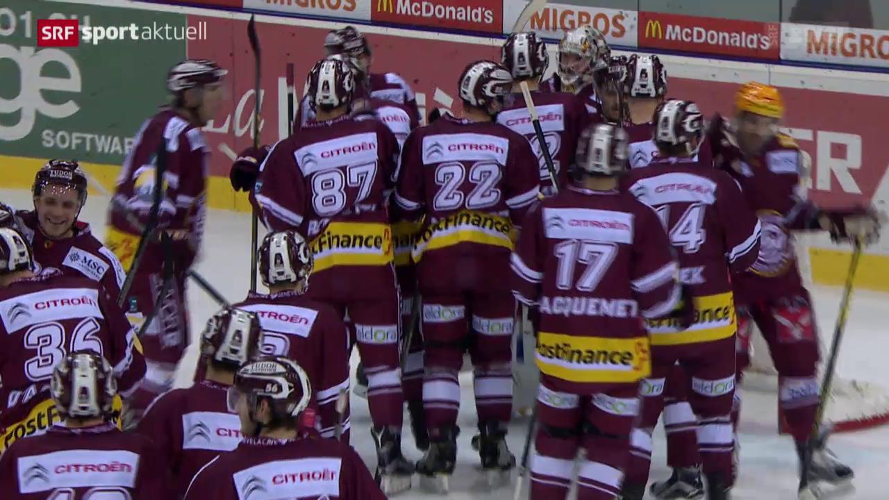 Eishockey: NLA, Genf-Kloten
