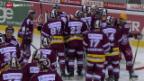 Video «Eishockey: NLA, Genf-Kloten» abspielen