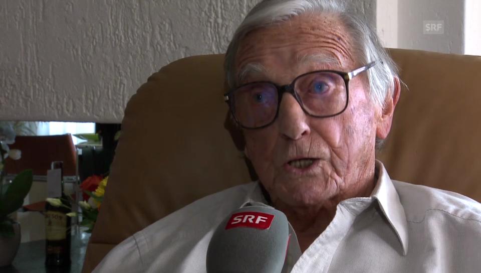 Sepp Renggli über seine Freundschaft zu Sepp Blatter