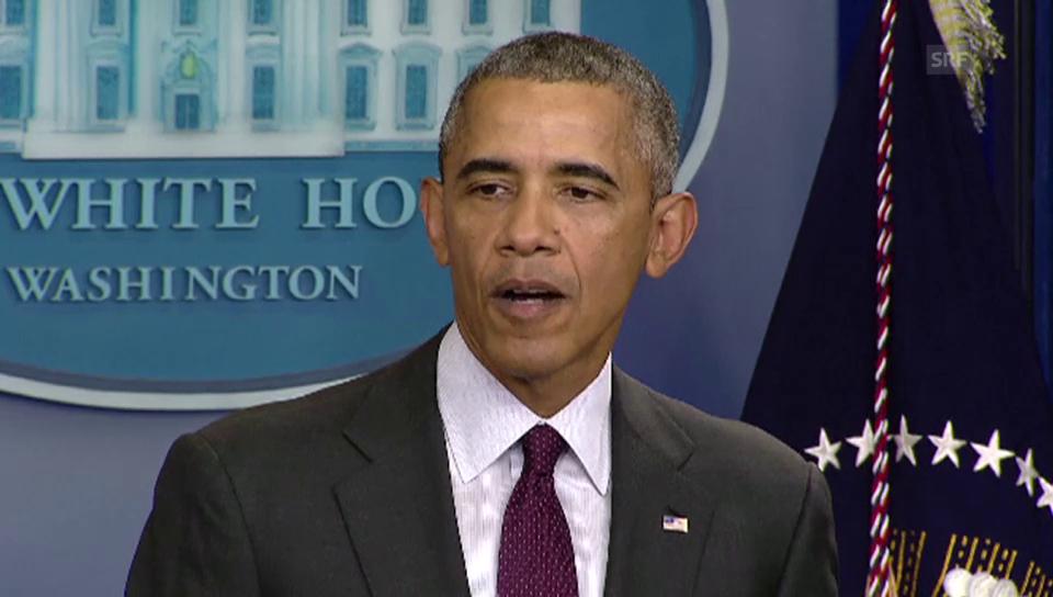 Obama zur Schiesserei in Roseburg