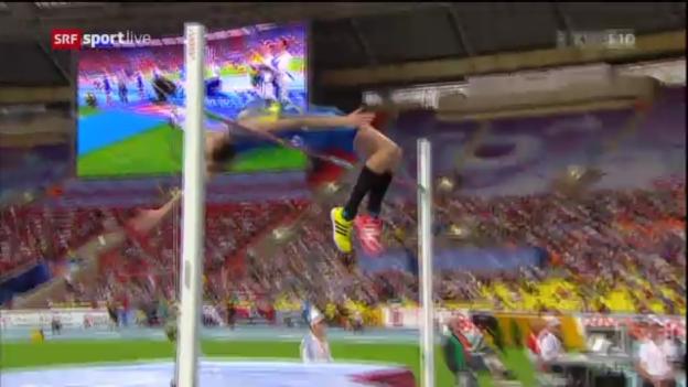 Video «LA-WM: Bondarenkos Sprung über 2,41 m» abspielen