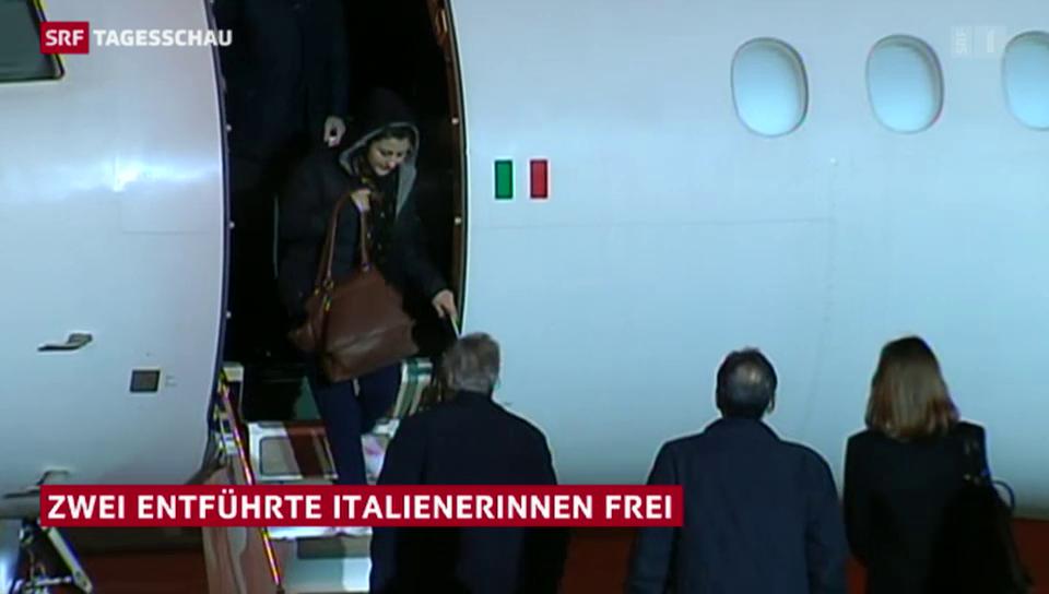 Italienische Geiseln sind frei