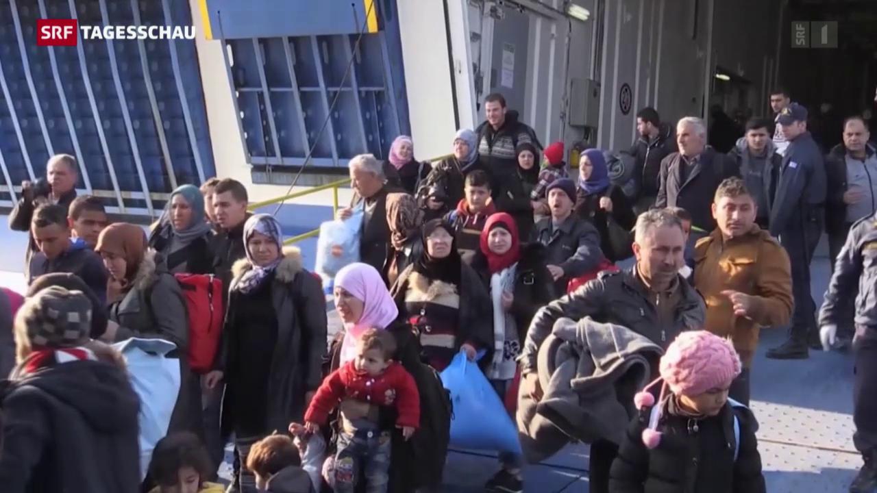 EU-Flüchtlingspakt mit Türkei in Kraft