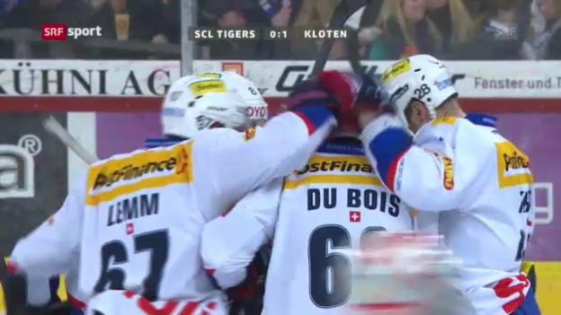 Video «Eishockey: SCL Tigers-Kloten Flyers» abspielen