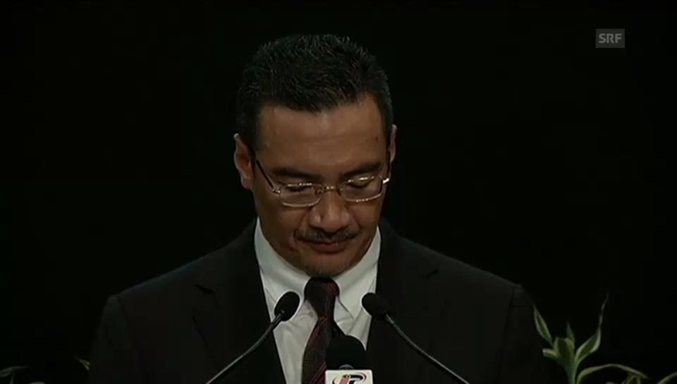 Malaysias Verkehrsminister verteidigt Vorgehen der Regierung