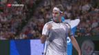 Video «Federer im Viertelfinal» abspielen