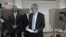 Video «Österreichische Blamage: Präsidentschaftswahl wird wiederholt» abspielen