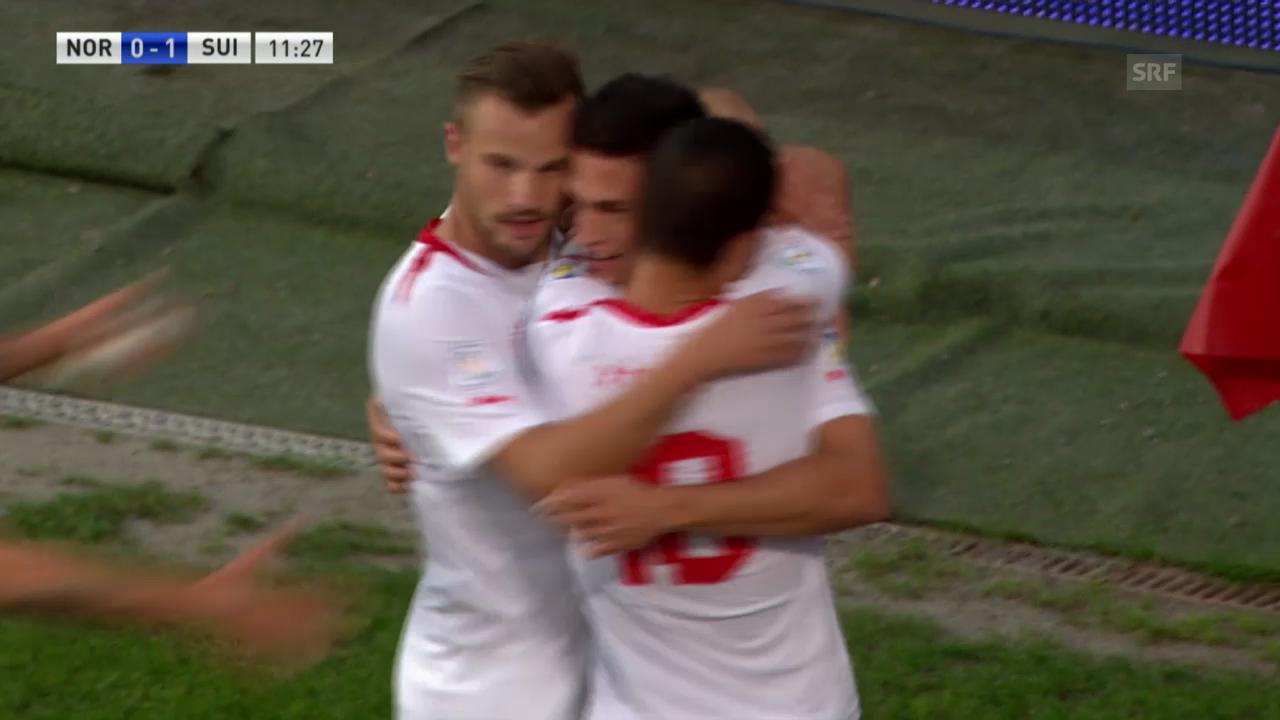 Fussball: Highlights Norwegen - Schweiz («sportlive»)