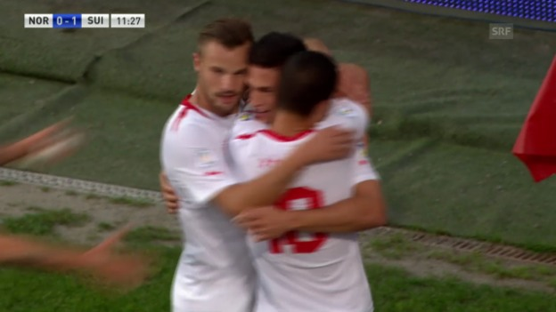 Video «Fussball: Highlights Norwegen - Schweiz («sportlive»)» abspielen
