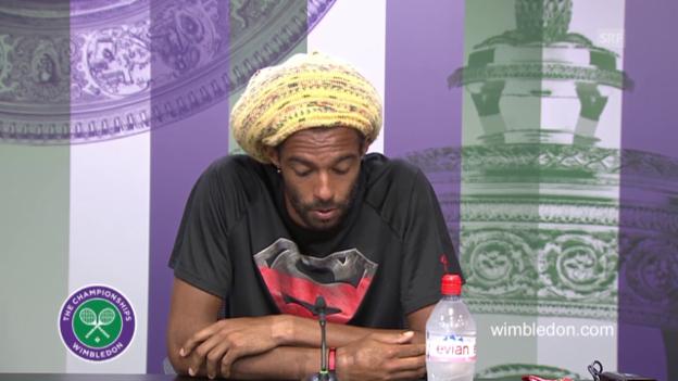Video «Brown an der PK: «Ich wollte Nadal aus der Komfortzone bringen»» abspielen