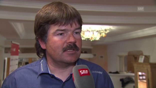 Video «Thomas Stauffer über die Vorbereitung und die Erwartungen an seine Fahrer» abspielen