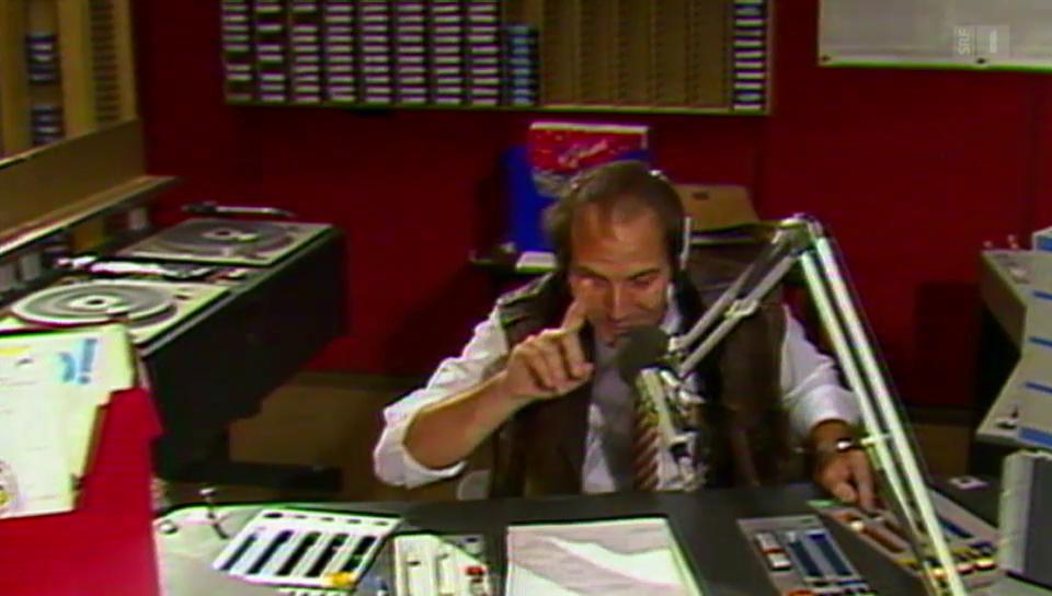 FM François Müners erster Einsatz bei DRS 3