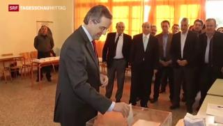 Video «Parlamentswahlen in Griechenland» abspielen