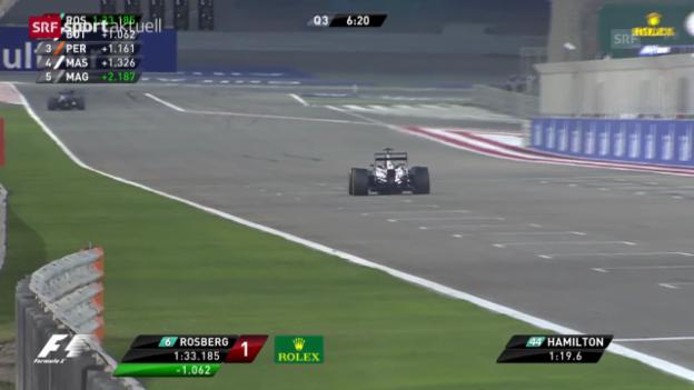 Video «Qualifying zum GP von Bahrain (sportaktuell, 5.4.2014)» abspielen