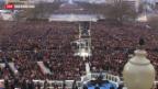 Video «Obama legt Amtseid ab» abspielen
