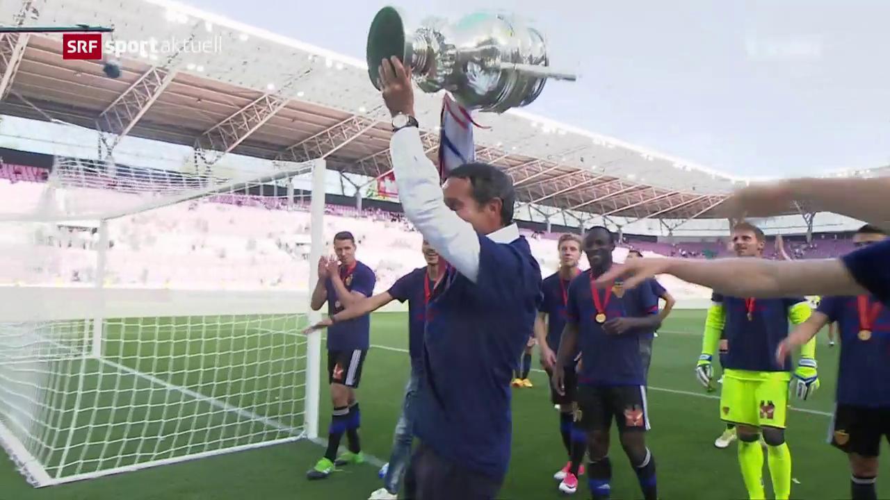 Basel schlägt Sion im Cupfinal
