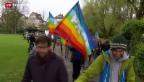 Video «Friedensmarsch an Ostern» abspielen