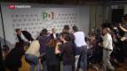 Video «In Italien verhandeln «Fünf Sterne» mit Mitte-Links» abspielen