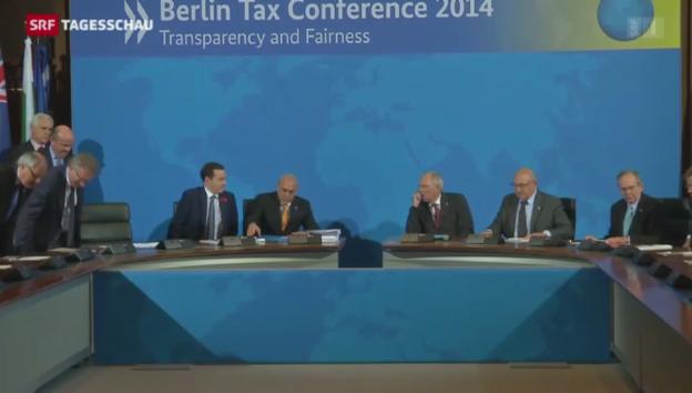 Video «Im Eiltempo gegen Steuerhinterziehung» abspielen