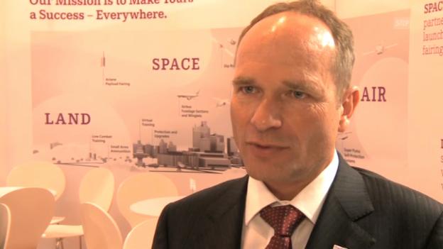 Video «Ruag-Chef Urs Breitmeier über internationale Rüstungs-Geschäfte» abspielen