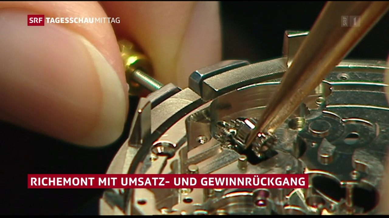 Immer weniger kaufen teure Uhren