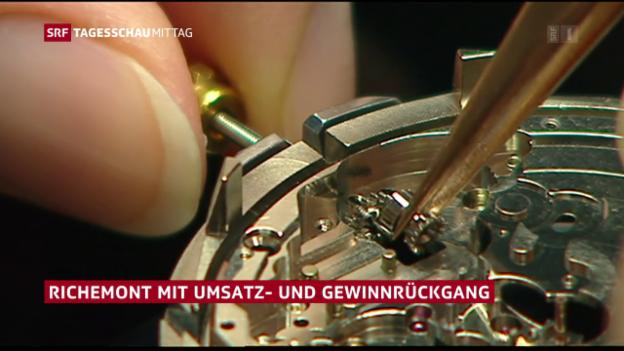Video «Immer weniger kaufen teure Uhren» abspielen