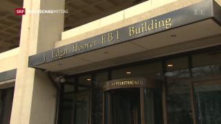 Video «Neutralität des FBI in Frage gestellt» abspielen
