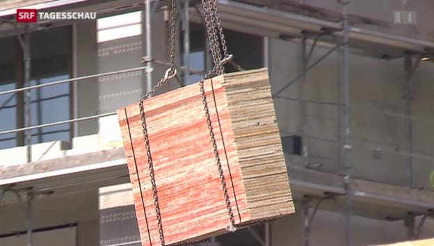 Video «Bauboom hält auch 2014 an» abspielen