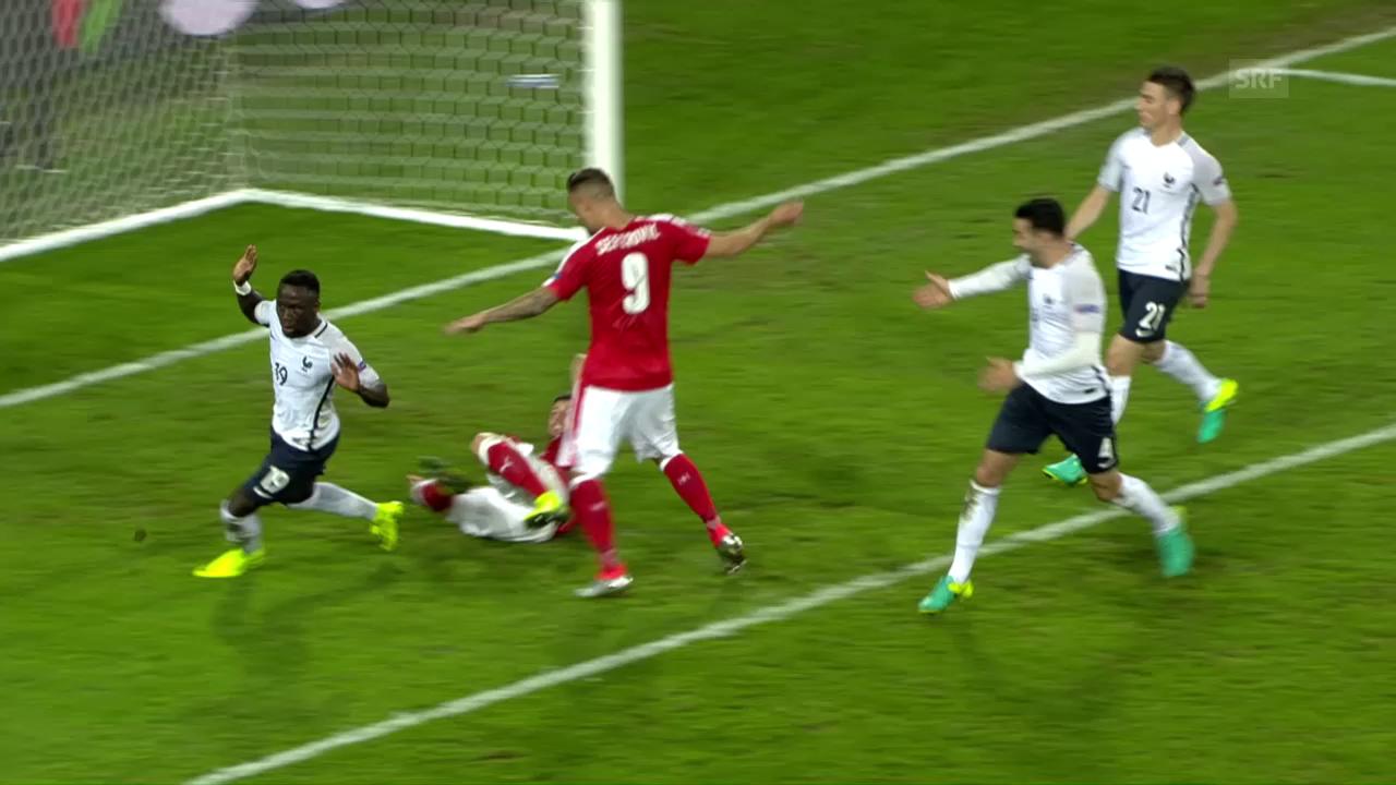 Schweizer Nati nach 0:0 im EM-Achtelfinal