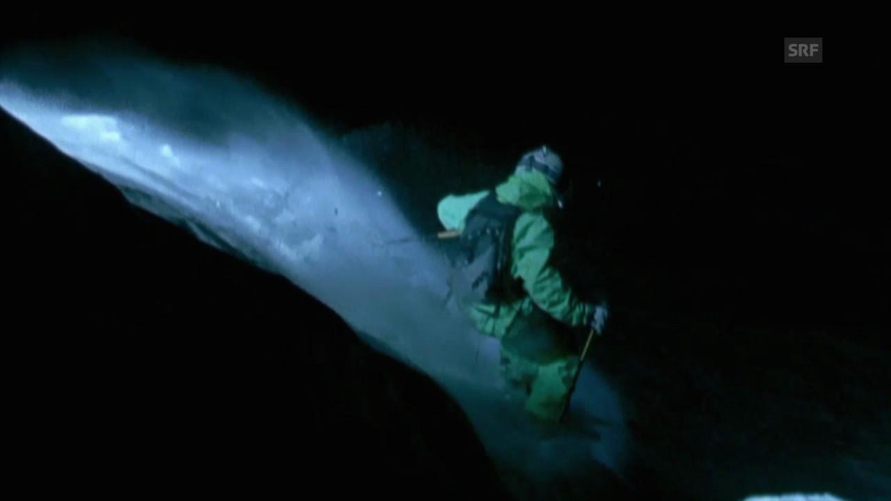 Falquet-Brüder filmen in der Nacht