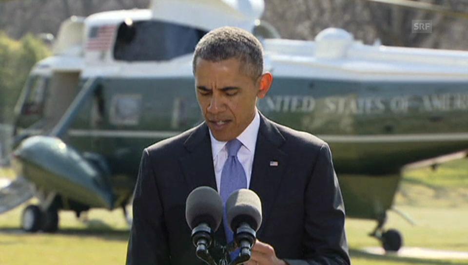 Obama sanktioniert Russland