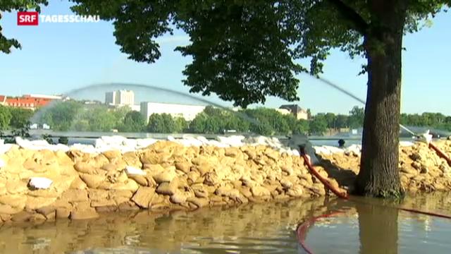 Hochwasser bedroht Budapest