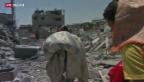 Video «Waffenstillstand in Gaza: Rückkehr in die Trümmer» abspielen