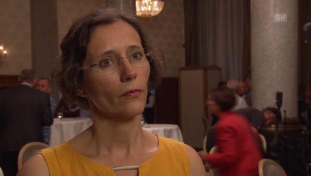 Video «Heidi Mück möchte das Erziehungsdepartement übernehmen» abspielen