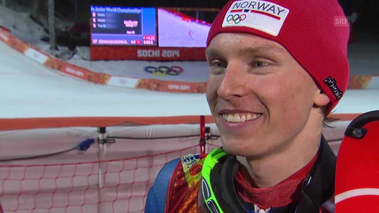 Ski: Interview mit Henrik Kristoffersen (sotschi direkt, 22.02.2014)