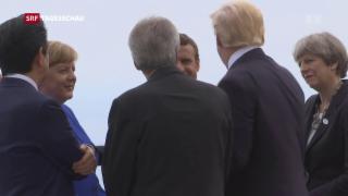 Video «G7: Differenzen am Fusse des Ätna» abspielen