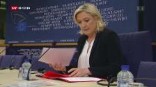 Video «Aus dem Archiv: Immunität von Le Pen aufgehoben» abspielen