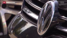 Video «Abgas-Skandal: Schweizer Anzeigen gegen VW» abspielen