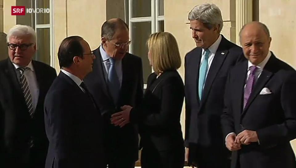 Diplomatisches Tauziehen in der Krim-Krise