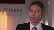 Video «Tobias Lux, Finma, zur Hypotheken-Vergabe der Banken» abspielen