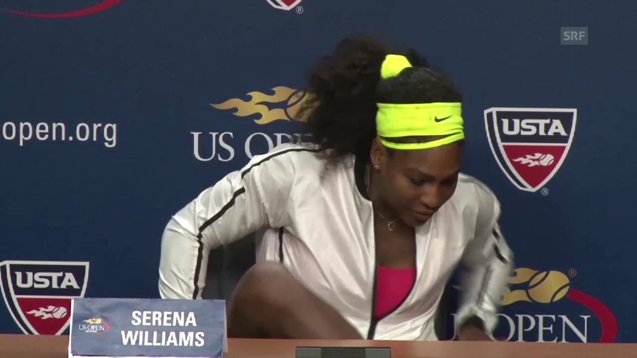Tennis: US Open, MK Serena Williams