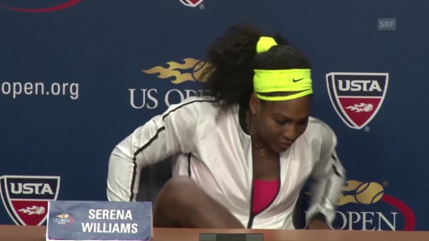 Video «Tennis: US Open, MK Serena Williams» abspielen