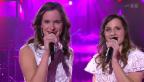 Video «Natacha & Stéphanie mit «Une terre sans vous»» abspielen