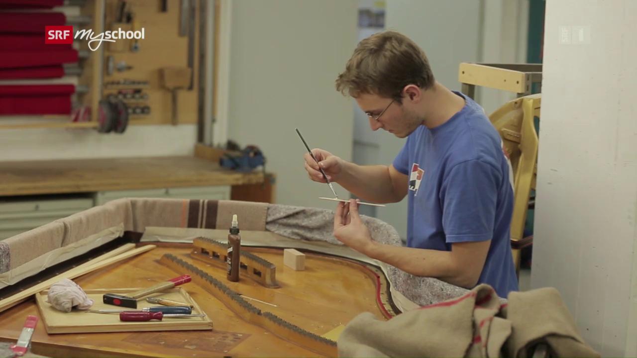 Berufsbild: Musikinstrumentenbauer Fachrichtung Klavier EFZ