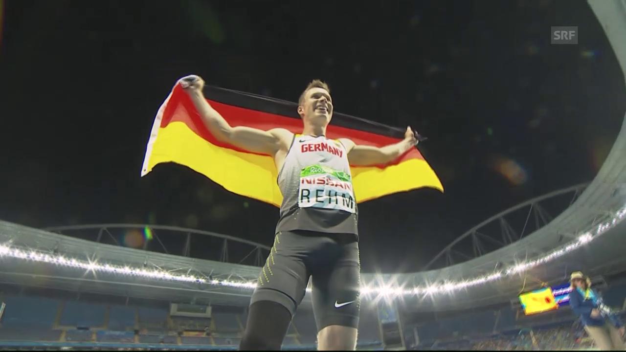 Markus Rehms Sprung zum Olympiasieg