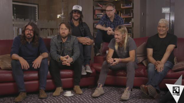 Video «Foo Fighters: «Wollen beste Live-Band der Welt sein»» abspielen