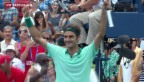 Video «Federer erspielt sich seinen 80. Turniersieg» abspielen