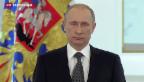 Video «Putin gibt sich angriffslustig» abspielen